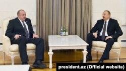İlham Əliyev və Gürcüstan prezidenti Giorgi Marqvelaşvili
