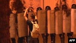 од протестите во Минск, 09.08.2020.