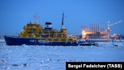 The Russian icebreaker Tor. (file photo)