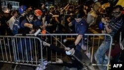 Hong Kongda toqquşma