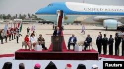 """Donald Trump: Reafirmisati """"nepokolebljivu vezu"""" Sjedinjenih Država i Izraela."""