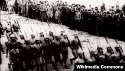 Qafqaz İslam Ordusu Şamaxıda - 1918