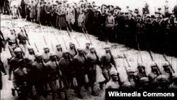 Qafqaz İslam Ordusu Şamaxıda. 1918