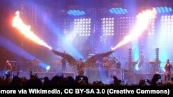 Німецький музичний гурт Rammstein