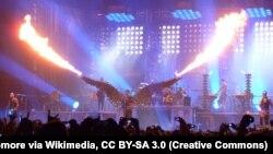 Выступление Rammstein (иллюстрационное фото)