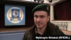 Адам Осмаев, живущий в Украине уроженец Чечни, которого Москва обвиняет в подготовке покушения на президента России Владимира Путина.