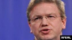 Еврокомиссар по вопросам Европейской политики соседства Штефан Фуле