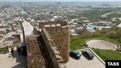 Pamje e një vendbanimi në Dagestan të Rusisë