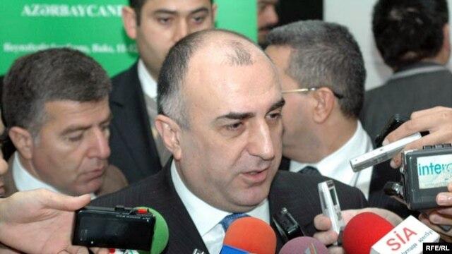 Azerbaijani Foreign Minister Elmar Mammadyarov (file photo)