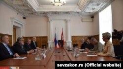 Встреча чешских и российских политиков в Севастополе