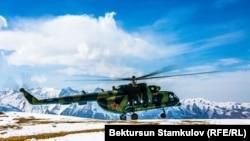 Вертолет Вооруженных сил Кыргызстана. Иллюстративное фото.