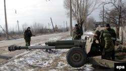 Proruski separatisti na borbenim položajima