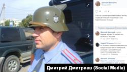 """Та самая фотография Сергея Тлеуова, которую Дмитриев скопировал с его личной страницы """"ВКонтакте"""""""