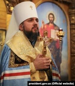 Глава єдиної Православної церкви України митрополит Київський і всієї України Епіфаній. Дніпро, 17 грудня 2018 року