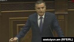Замминистра обороны Армении Артак Закарян (архив)
