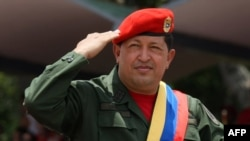 The late Venezuelan President Hugo Chavez