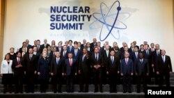 Саммиттин катышуучулары. Вашингтон, 1-апрель, 2016-жыл