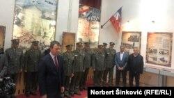 Igor Mirović na otkrivanju spomen ploče Mladenu Bratiću u Novom Sadu