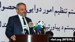 فیروز: پس از این، شرکتهای که در افغانستان دوا وارد میکنند، برایشان شرط گذاشته میشود.