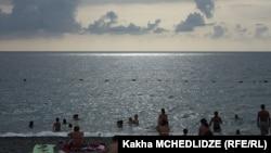 Пляж в Кобулети (иллюстративное фото)