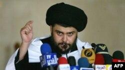 مقتدا صدر با آغاز عملیات اخیر ضد شورشیان، برای مدتی به ایران رفت.