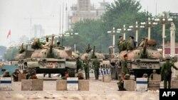 Танки китайской армии. Иллюстративное фото