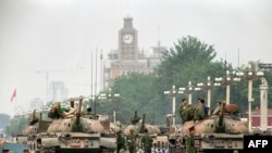 Tiananmen, 1989. godine