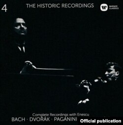 Coperta unuia din CD Warner Classics