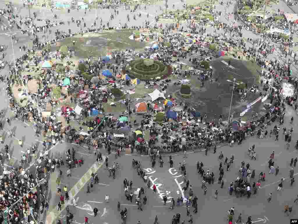 Veliki protestni ¨milionski marš ¨, Kairo, 01.02.2011. Foto: AFP / Khaled Desouki