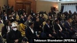 Собрание депутатов в госрезиденции «Ала-Арча», 10 октября 2020 г.