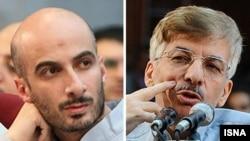 هدایت آقایی (راست) و شهاب طباطبایی؛ دو فعال سیاسی اصلاحطلب