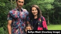 Колишня біженка з Афганістану Сафія Вазір разом зі своєю родиною