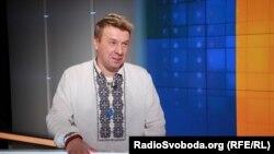Олександр Ягольник у студії Радіо Свобода