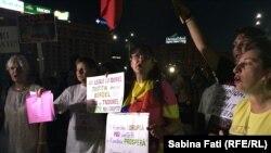 Proteste anti-guvernamentale la București