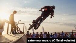 Фестиваль «Экстрим Крым» в Оленевке, август 2015 года