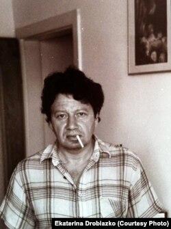 Алексей Парщиков, фото Екатерины Дробязко
