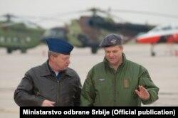 Pripadnici snaga Srbije i Rusije na vježbi BARS 2016