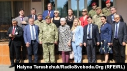 Делегація Парламентської асамблеї НАТО на Яворівському полігоні