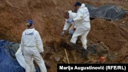 Ekshumacije iz masovne grobnice Tomašica
