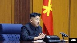 Ким Чен Ын, президент Северной Кореи. Фото с сайта AFP.