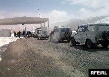 Движение на КПП Кульма - Карасу ограничено