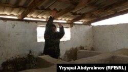 Сагын Салиев Абдимажит уулу Пазылдын жансыз денеси каерде табылган көрсөтүп жатат.