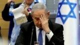 Premijer Izraela Benjamin Natanjahu u parlamentu, 20. novembra 2019.