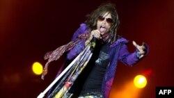Лидер группы Aerosmith Стивен Тайлер