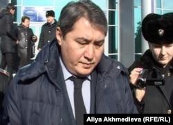 Заместитель акима города Талдыкорган Талгат Кайнарбеков. Талдыкорган, 25 января 2013 года.