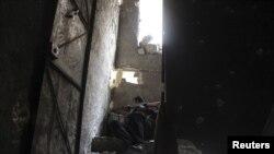 Боец повстанческой армии в Алеппо. Иллюстративное фото.