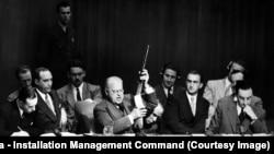 Обговорення в Раді Безпеки ООН від час корейської війни, між 1950 і 1953 роками