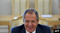"Russian Foreign Minister Sergei Lavrov accused the West of ""strengthening the position of extremists"" in Syria, including Islamic State."