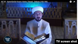 Aya Sofyada Quran oxunmasını TRT canlı yayınlayır