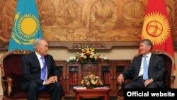 Первый государственный визит президента РК Назарбаева в Кыргызстан, 22 августа